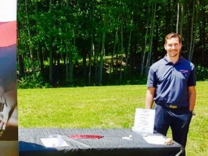 Jason Porr at Hardwood Hills Expo July 8 2017